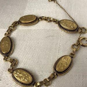 Vintage 12K gold bracelet